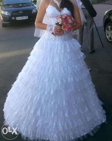 Шикарное свадебное платье не дорого!!!