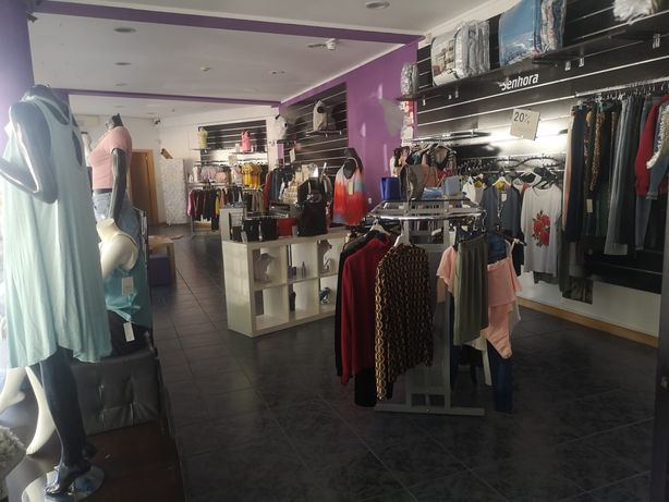 Loja vestuário e artigos para o lar