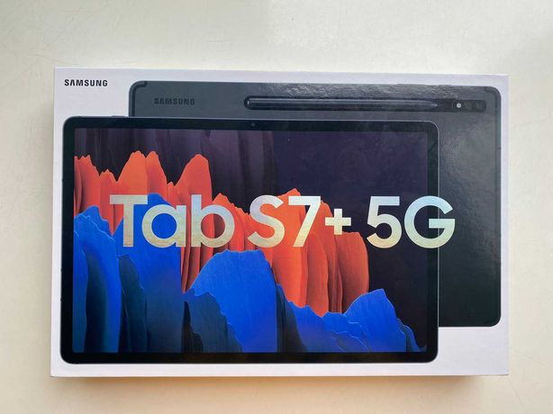 "Galaxy Tab S7+ 5g 12.4"" Mystic Black Львів"