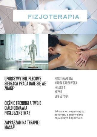 Fizjoterapia i masaż leczniczy