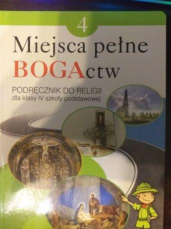 Podręcznik do religii Miejsca pełne BOGActw kl.IV