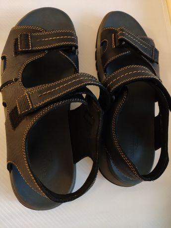 Сандалии мужские Clarks Brixby Shore - 45 размер - качество