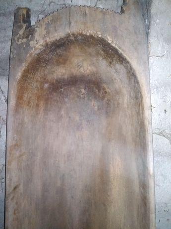 Stare drewniane koryto masarskie Antyk
