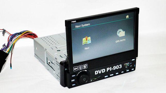 Radio samochodowe MP5 NAWIGACJA ekran dotykowy usb windows karta sd