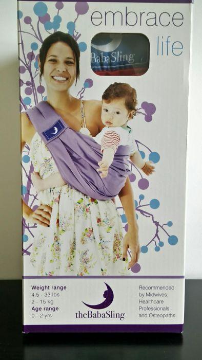 Sling porta bebe -Babasling Avelãs de Caminho - imagem 1