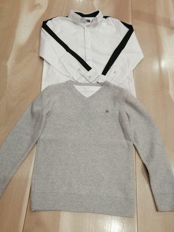 Koszula Reserved +Sweter Reserved