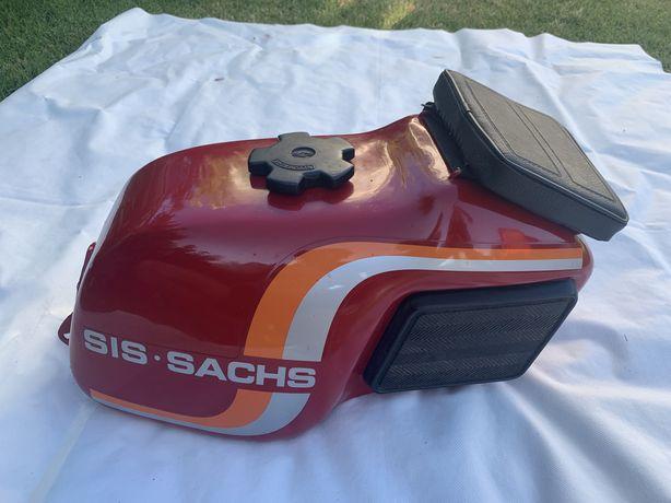 Depósito de combustível Sachs V5 pintado