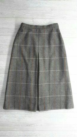 винтажная юбка Burberry на подкладке красивое сочетание цветов