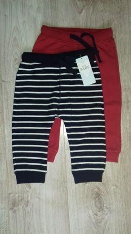 Spodnie chłopięce M&S 2-PAK NOWE
