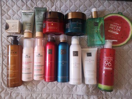 Duży zestaw kosmetyków Nuxe, Rituals, Caudalie, Laura Mercier, Holika