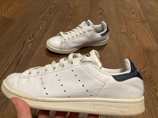 Adidas Stan Smith оригинал кроссовки унисекс кожаные размер 38 б у