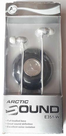 Nowe douszne słuchawki stereo Arctic Sound E351-W