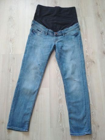 Jeansy ciążowe H&M, rozm 38, jak nowe.