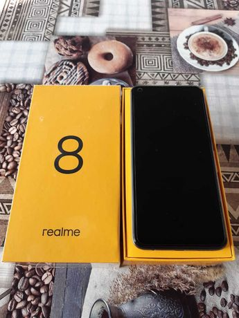 Telefon komórkowy Realme 8 64GB DS RMX 3085 Punk Black