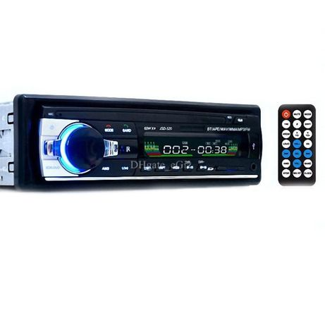 Автомагнитола JSD-520 ISO, MP3, FM, Bluetooth