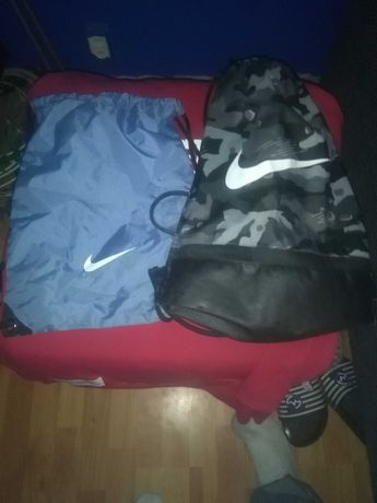 2 Worki moro Nike Brasilia i Niebieski