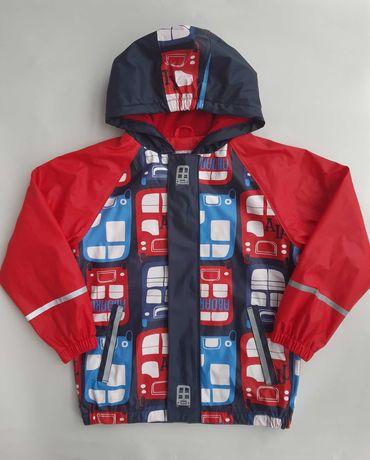 Куртка дощовик хлопчику lupilu 6-8 р/ дождевик грязепруф мальчику
