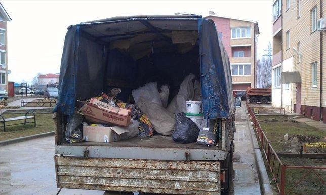 Вывоз строительного и бытового хлама, мусора