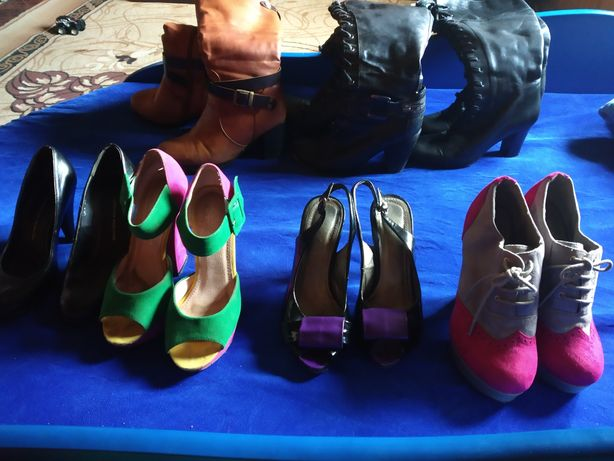 Продам лот взуття (пакет обуви) із 7 позицій