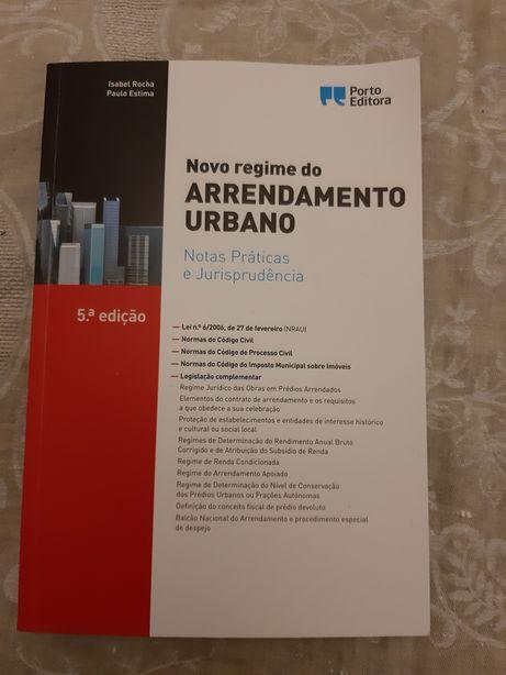 Livro Novo Regime do Arrendamento Urbano