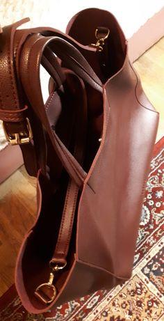 Mohito shopper bag torebka burgund