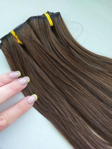 Волосы на заколках, термоволосы 60см