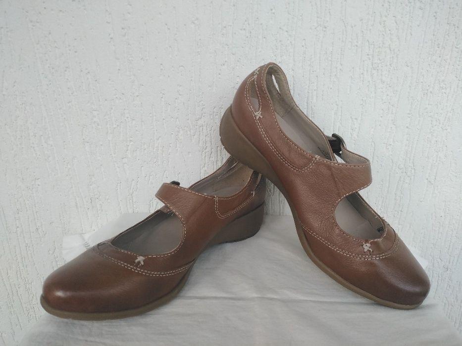 Туфли,босоножки кожанние Footglove р.38 Трускавец - изображение 1