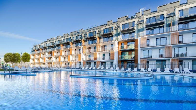 Apartamenty Kołobrzeg baseny siłownia kulki sauna jacuzzi LAST MINUTE