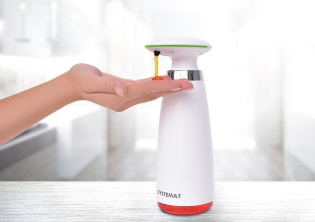 Automatyczny bezdotykowy dozownik mydła higieniczny