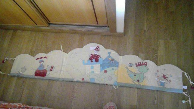 Proteção para cama de grades - bébé