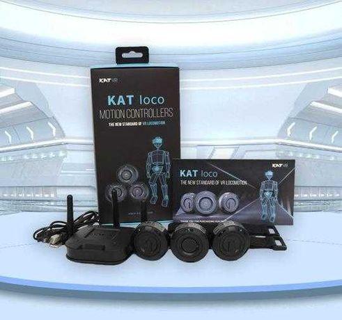 KAT loco VR(перенос тела в виртуальную реальность)