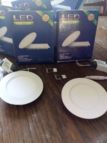 Zestaw lamp LED panel