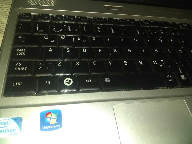 Ноутбук Toshiba 2 ядра 2 ddr3