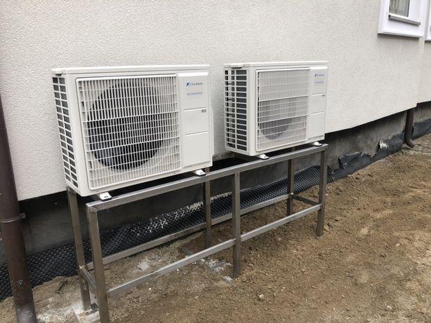 Montaż, serwis klimatyzacji i pomp ciepła!