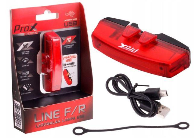Nowa Lampka tylna PROX LINE R LED 30 LM / czerwona USB