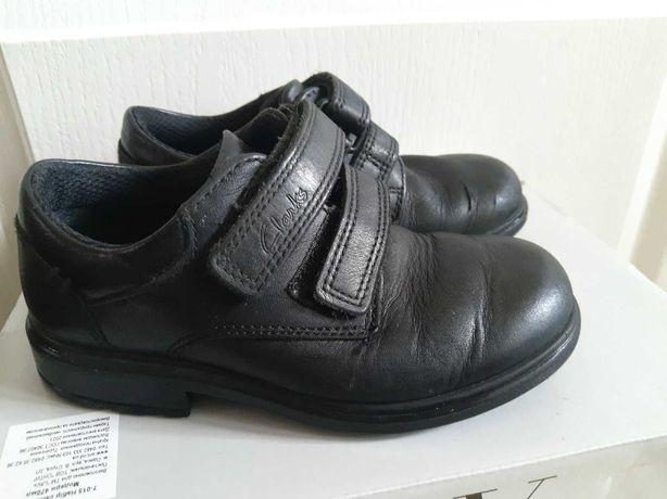Кожаные туфли, кроссовки clarks для мальчика по стельке 18 см. Clarks