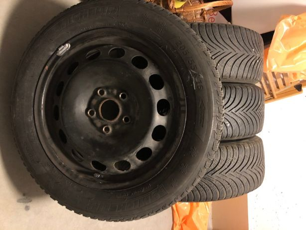 Michelin Alpin 5 205/55 R16 + felgi