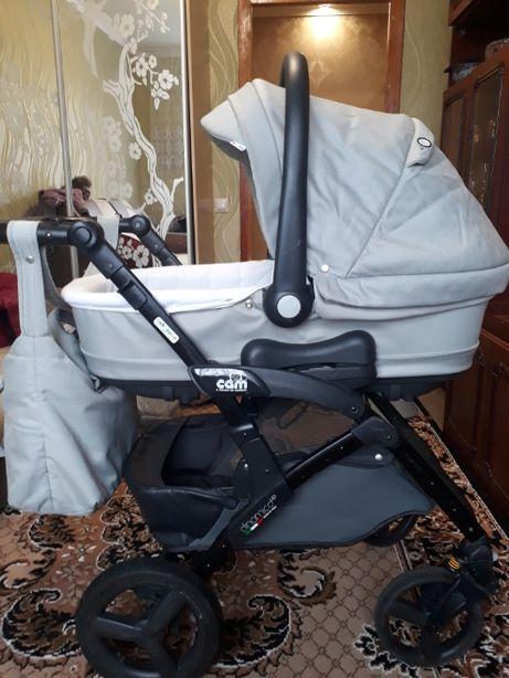 Детская коляска зима-лето фирма CAM 3 в 1