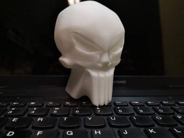 Model czaszka Punisher logo