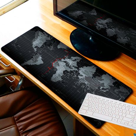 КАРТА МИРА Ковер игровой, коврик для мыши, мышки, игровая поверхность