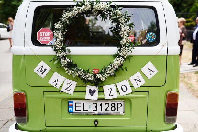 Ogórkiem do ślubu - wynajem samochodu na uryczostości