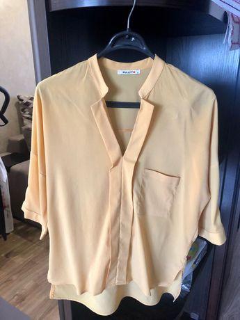 Блуза кофточка туника женская М