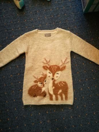 Primark sukienka sweterek 80