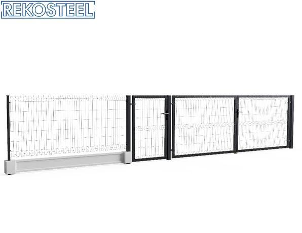 Ogrodzenie panelowe 1230mm  Panel BETAFENCE Ogrodzenie panelowe