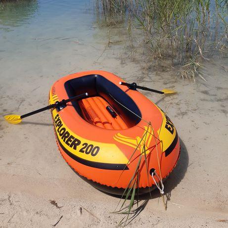 Надувна лодка intex explorer 200 +(ВЕСЛА)