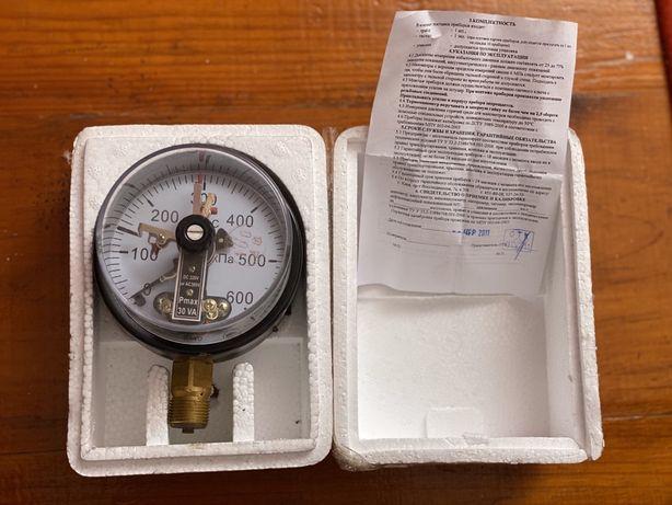 Манометр электроконтактный МТ-3С 0...60