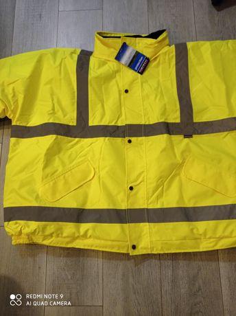 Сигнальная Куртка-парка Porwest s 426