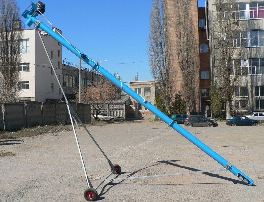 Шнековый погрузчик Ø 108 мм, шнековый транспортер , протравитель зерна