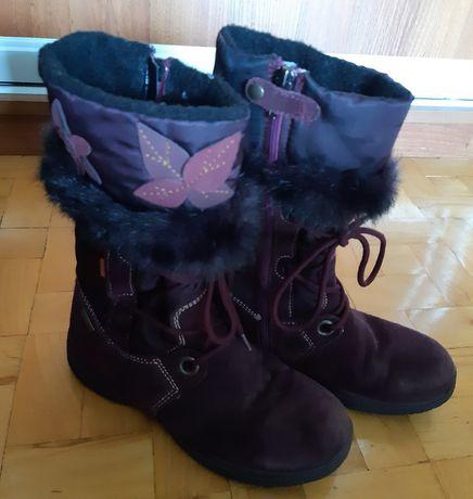 Kozaki, buty zimowe PRIMIGI stan bdb, rozm. 33 wkładka 22 cm