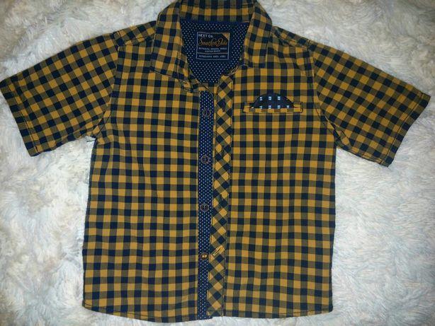Сорочка для хлопчика 62, 74-80 см